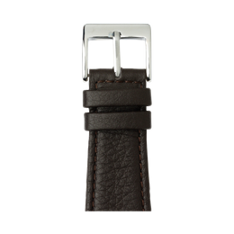 Apple Watch band nappa leather dark brown | Roobaya