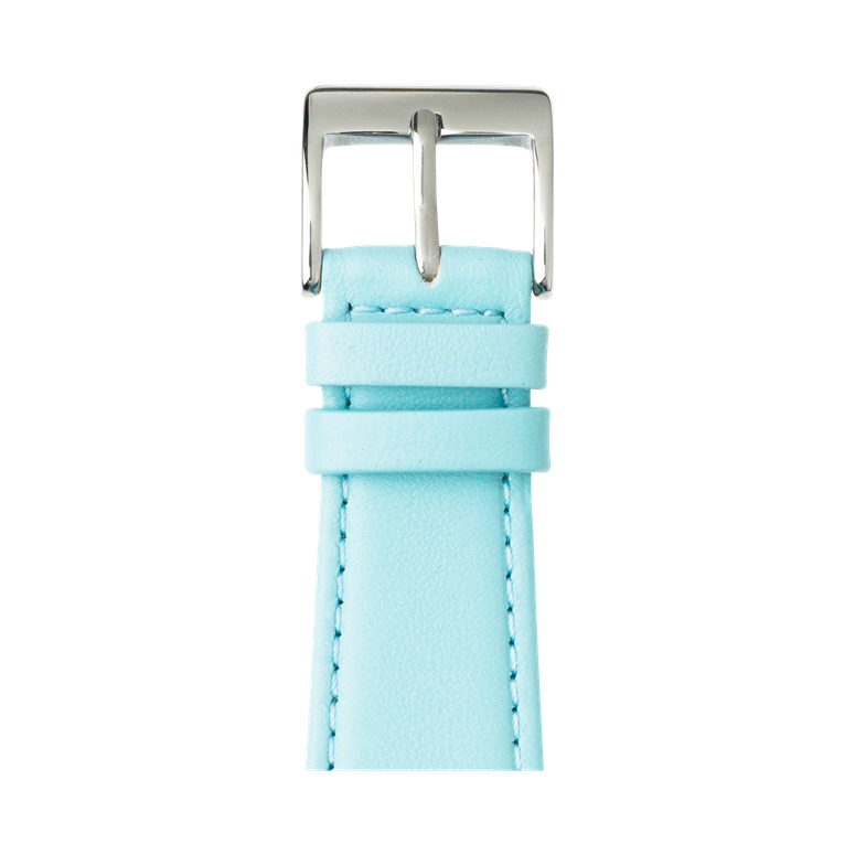Apple Watch band nappa leather light blue | Roobaya – Bild 1