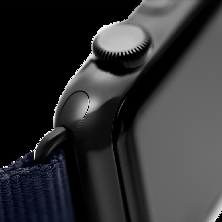 Apple Watch Lederarmband Nappa Hellblau | Roobaya – Bild 5