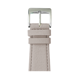Apple Watch band nappa leather light gray | Roobaya