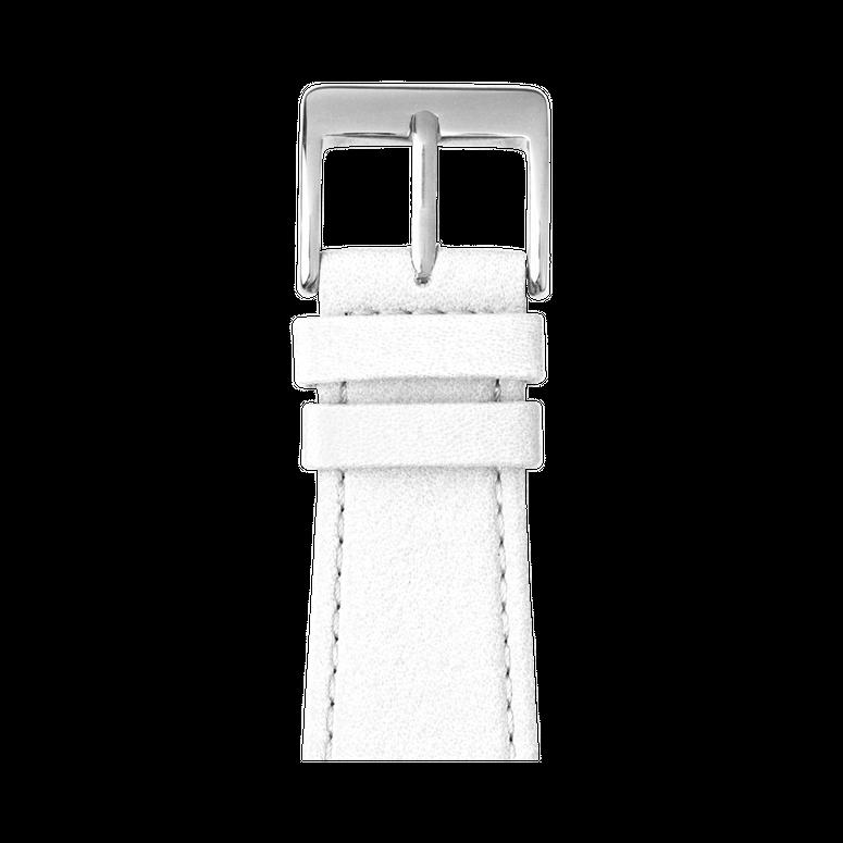 Correa para Apple Watch de piel napa en blanco | Roobaya – Bild 1
