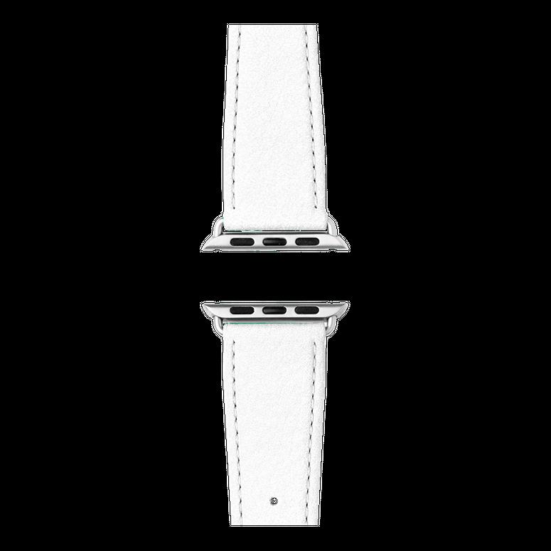 Correa para Apple Watch de piel napa en blanco | Roobaya – Bild 4