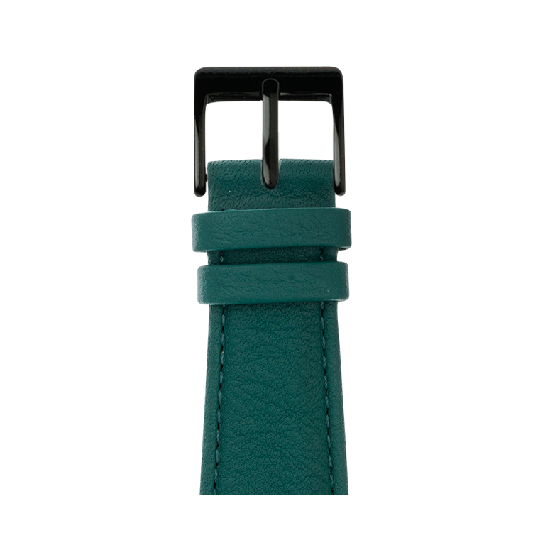 Apple Watch band nappa leather dark green | Roobaya – Bild 2