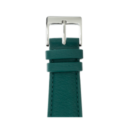Cinturino Apple Watch in pelle nappa verde scuro | Roobaya
