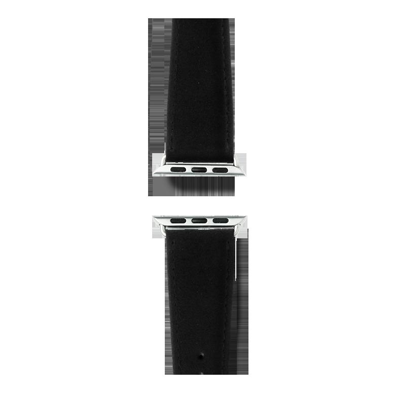 Bracelet en Alcantara Noir | Roobaya – Bild 4