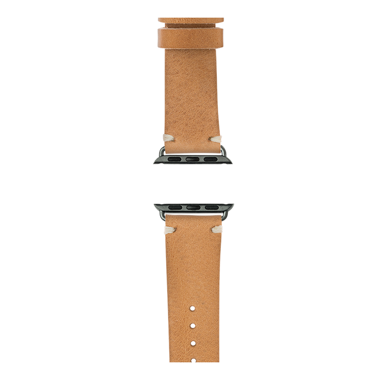 Apple Watch band vintage leather nature | Roobaya – Bild 4