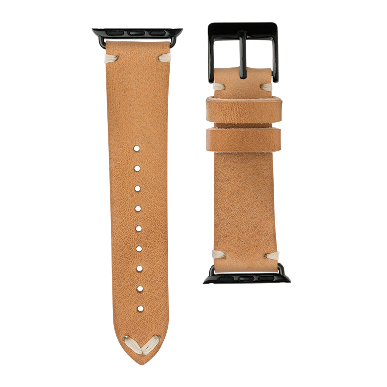 Apple Watch band vintage leather nature | Roobaya – Bild 3