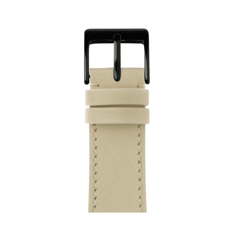 Cinturino Apple Watch in pelle french calf sabbia | Roobaya – Bild 2