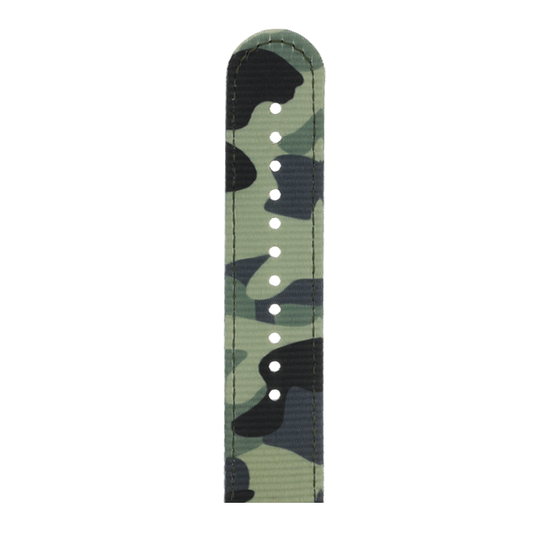 Nylon Armband Heavy Duty in Camouflage für die Apple Watch Series 1, 2, 3 & 4 in 38mm, 40mm, 42mm & 44mm Gehäusegröße von Roobaya - Made in Germany – Bild 5