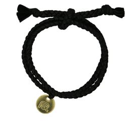 Fabric bracelet black by Roobaya - Handmade in Germany