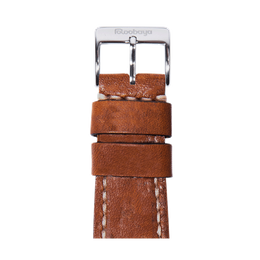 Apple Watch band vintage leather medium brown | Roobaya