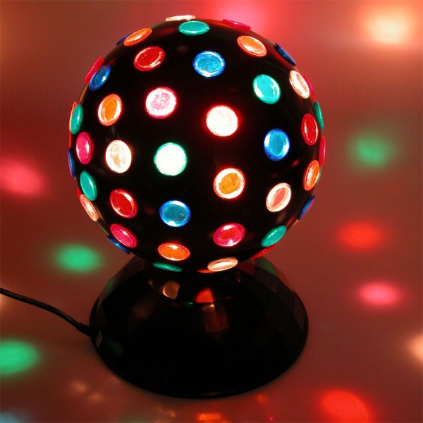 led party magic disco kugel discolicht discoball retro. Black Bedroom Furniture Sets. Home Design Ideas