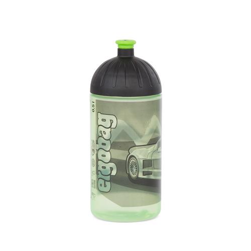 Ergobag Trinkflasche 0,5L Drunter und DrüBär Schwarz Grün