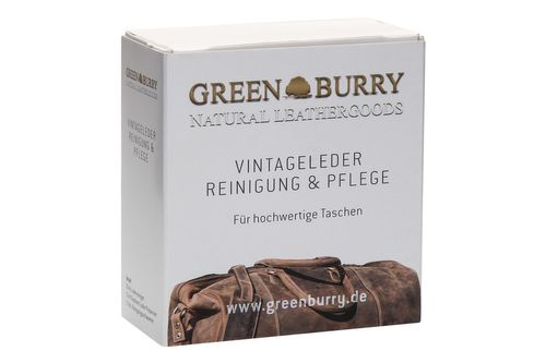 Greenburry Leder-Pflegeset Natural LEATHERGOODS 888-XX