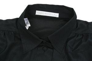 Neu! MARIO ROSELLA Bluse Gr. 36 Schwarz Langarm – Bild 2
