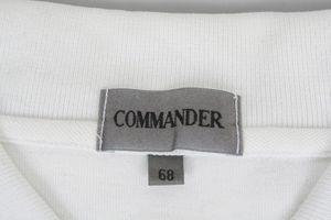 COMMANDER Poloshirt Gr. 68 Weiß Kurzarm Baumwolle – Bild 3