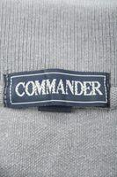 COMMANDER Poloshirt Gr. 66/68 Grau Kurzarm Baumwolle – Bild 4