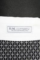 Neu! B.M. COMPANY Bluse Gr.42 Schwarz Baumwolle Langarm – Bild 4