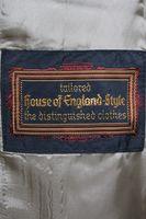 NEU! HOUSE OF ENGLAND Rock Gr. 40 Gelb Schurwolle – Bild 3