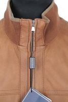 NEU! FERRACIN Lederjacke Gr. 46 Braun MADE IN ITALY – Bild 2