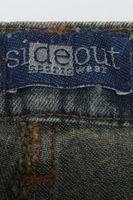 Neu! SIDEOUT Jeans W 28 Blau Used-Look – Bild 4