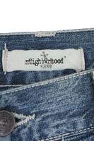 Neu! NEIGHBORHOOD Jeans W 31 Blau Used-Look – Bild 2