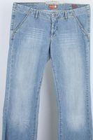 Neu! ROOK Jeans W 29 Blau Used-Look Baumwolle – Bild 1