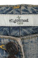 Neu! NEIGHBORHOOD Jeans W 28 Blau Used-Look – Bild 5