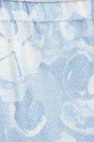NEU! MALLANI Rock Gr. 36 Blau gemustert Wadenlang – Bild 2