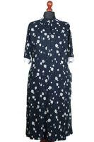 NEU! LIMA Kleid Gr. 42 Dunkelblau gemustert Leicht – Bild 1
