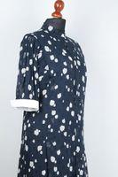 NEU! LIMA Kleid Gr. 42 Dunkelblau gemustert Leicht – Bild 2