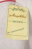 NEU! ANGELIKA Trachtenrock Gr. 42 Beige mit Leinen – Bild 3