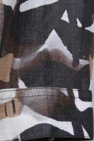 Neu! GOLDIX Blazer Gr. 38 Braun gemustert Leinen – Bild 3