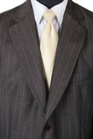BILL ROBINSON Anzug Gr. 52 Braun 2-Knopf Einreiher – Bild 2