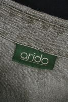 ARIDO Trachtenhemd Gr. 40 Khaki Langarm Leinen – Bild 4