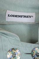 LODENFREY Trachtenkleid Gr. 40 Hellgrün Baumwolle – Bild 4
