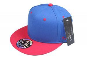 Neu! RAW BLUE Kappe Blau/Rot One Size Baseball Cap – Bild 1