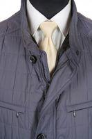 Neu! JUPITER Steppjacke Gr. 60 Graublau Jacket Stepp 39520 – Bild 2