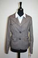 Neu! MY OWN by ADLER Blazer in Graubraun Gr. 36 EDEL!!