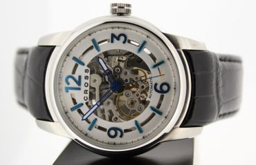 CROSS - Automatik Uhr mit Skelettiertem Uhrwerk - NEU  Model: CR8008-02 – Bild 3