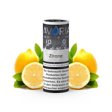 10ml Liquid Zitrone, Avoria