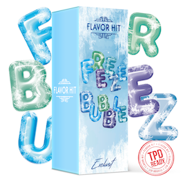 10ml Liquid Freeze Bubble FlavorHit – Bild 2