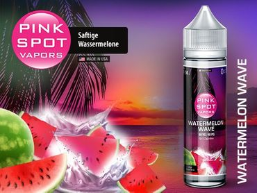 50ml Liquid Watermelon Wave, Pink Spot