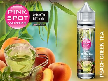 50ml Liquid Peach Green Tea, Pink Spot