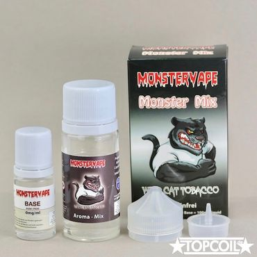 100ml Monster Mix Wild Cat Tobacco, Monstervape