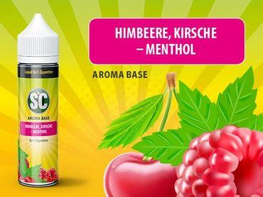 50ml Liquid Himbeere Kirsche Menthol, SC
