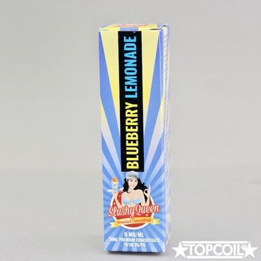 50ml Blueberry Lemonade, Slushy Queen PJ Empire