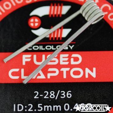 10x Fused Clapton NiChrom 0,46Ohm