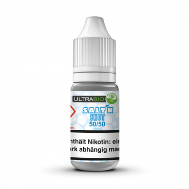 10ml Salt'n Shot 50/50 20mg/ml, Ultrabio