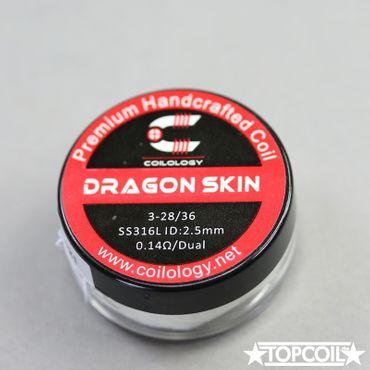 2x Dragon Skin 0.14 Ohm/Paar – Bild 2